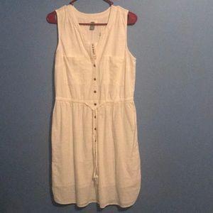 Old Navy Dress- white